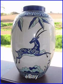 Vase Keralouve en Emaux La Louviere Art Déco