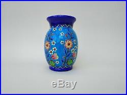 Vase Keramis floral et japonisant par Charles Catteau Art Déco Art Nouveau