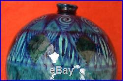Vase Orientaliste d' Edmond Lachenal, Epoque Art Déco