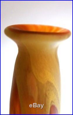 Vase SCHNEIDER Pate de verre ART DECO
