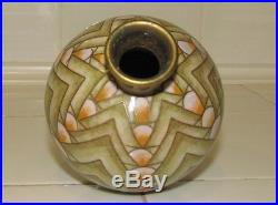 Vase Soliflore Cloisonne Art Déco