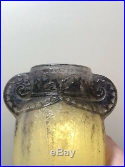 Vase Thebes Gabriel Argy-Rousseau Art Deco Glass Pate De Verre