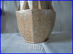Vase à gradins Mougin Nancy n° 322 J art déco vase mud Mougin art déco