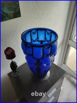 Vase art déco (André Delatte 1887-1953)