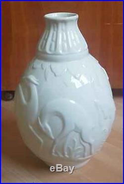 Vase art déco Boch frères La Louvière