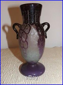 Vase art-déco signé Charder