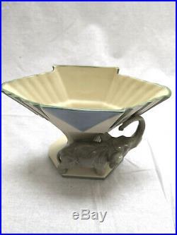 Vase au décor animal période art déco design Royal Dux