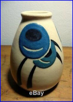 Vase de Simone LARRIEU Grès Art-Déco Superbe