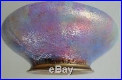 Vase emaux email cuivre Paul BONNAUD LIMOGES Art Deco french enamel era FAURE