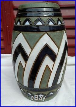 Vase en céramique art-deco 1930