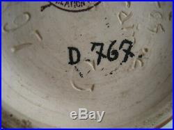 Vase en grès CHARLES CATTEAU BOCH LA LOUVIERE KERAMIS D 767 Art Deco 1923