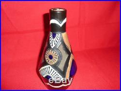 Vase en grès Odetta Quimper art déco 1930 sandstone ceramic