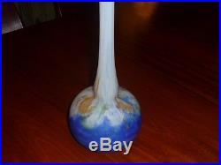 Vase en pâte de verre, Art Déco par Lorrain