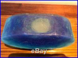 Vase pate de verre Daum Nancy Lorraine Art Déco japonisan cameo glass jugendstil