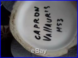 Vase pichet signé Roger CAPRON année 50 art déco céramique collection