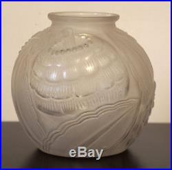 Vase pierre d'avesn art déco