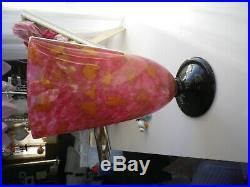 Vase schneider lava 1920/30 parfait état art déco signé 29cm
