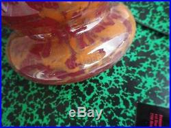 Vase schneider lava - 1920/30 très bon état art déco signé 34cm