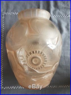 Vase signé Pierre d'Avesn d'époque art déco Parfait état